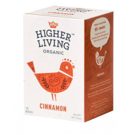 CINNAMON - Infusion Cannelle bio - Higher Living