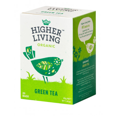 GREEN TEA - Thé Vert Bio - Higher Living
