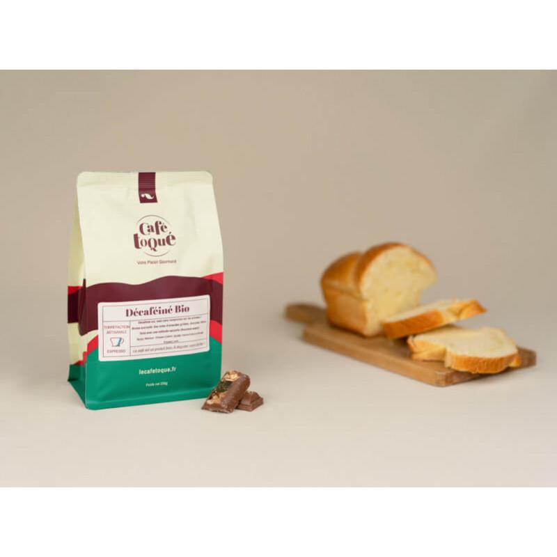 Décafféiné - Café en grain expresso Café Toqué