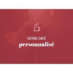 Café personnalisé expresso