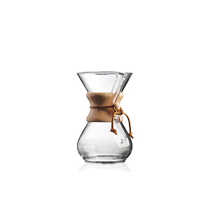 Cafetière en verre Chemex