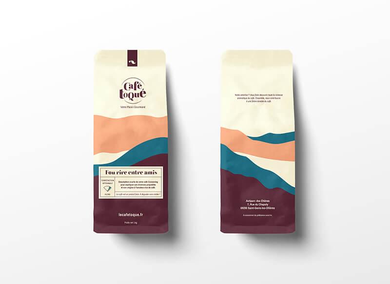 Sachets de café de Café Toqué