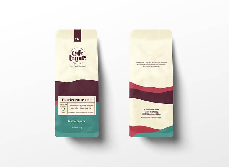Sachets de café au packaging original