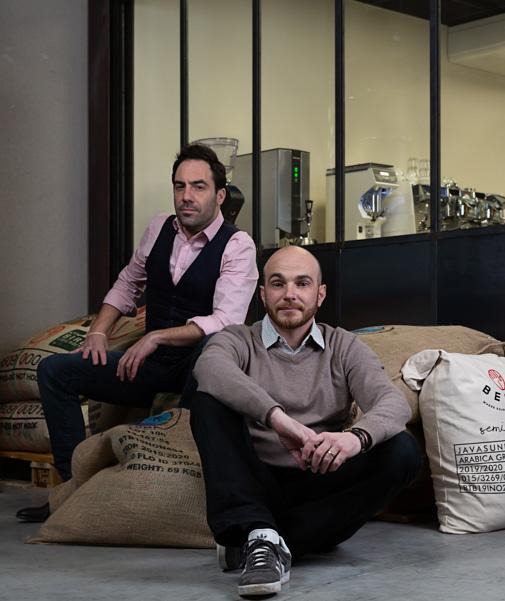 Vincent Lamaze, cofondateur du Café Toqué